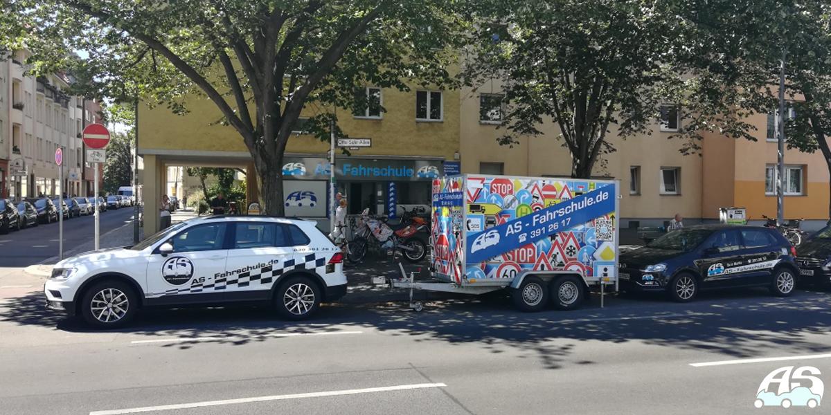 PKW & Motorrad Fahren lernen in Berlin - AS Fahrschule - Banner 5